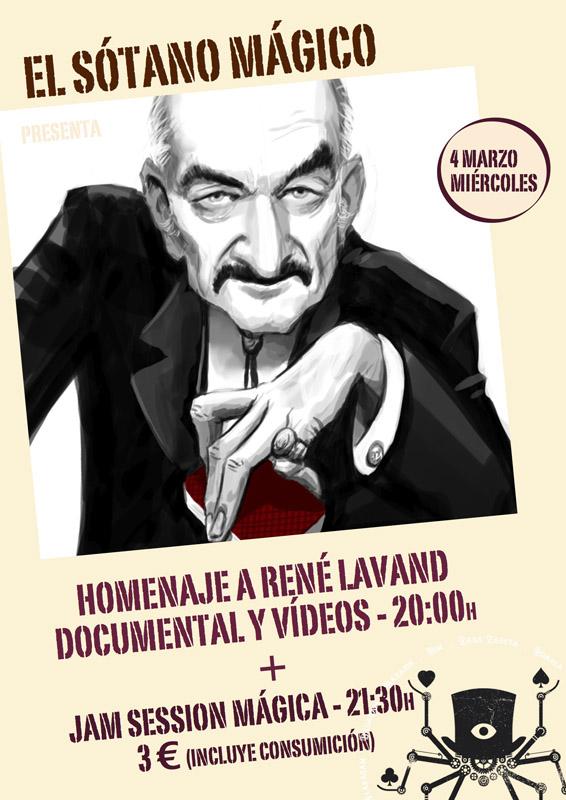 Homenaje a René Lavand y 'Magic Jam Session' en El Sótano Mágico