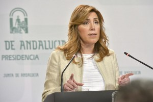 Susana Díaz, del PSOE Andalucía.