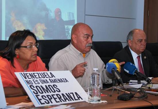 """Darío Vivas, diputado del PSUV: """"Felipe González promueve la impunidad del terrorismo en Venezuela"""""""