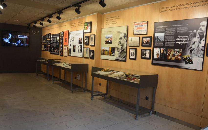 La Fundación José Antonio Labordeta alberga ya toda la esencia y legado del músico, escritor y político aragonés