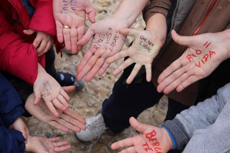 El Bergantes acogió la celebración del Día Internacional de Acción por los Ríos
