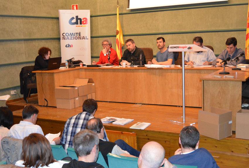 CHA reclama en Gallur que el Gobierno español asuma el total de las ayudas por las riadas