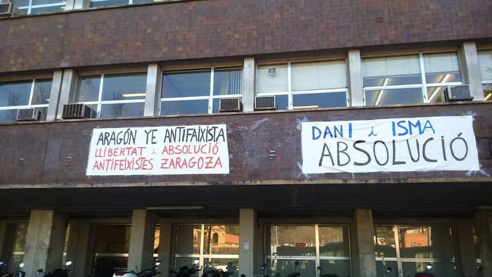 facultat quimica barcelona aragon antifaixista