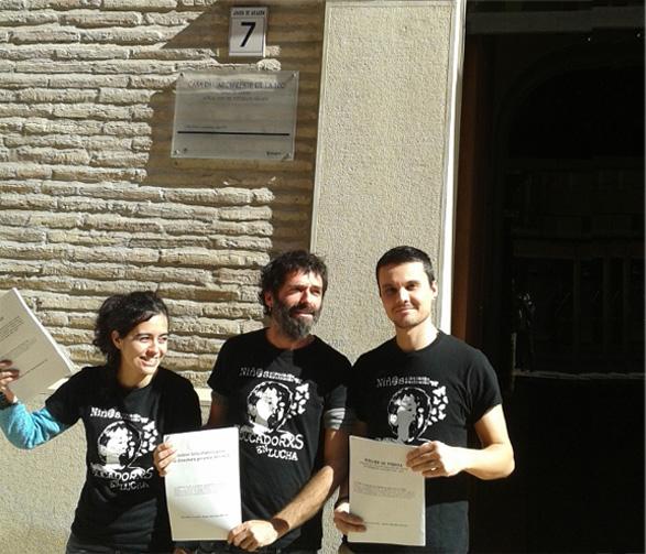 El Justicia de Aragón recibe a Educadores en Lucha ante la situación de emergencia del COA
