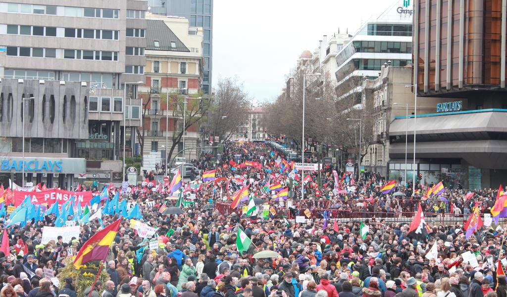 Las Marchas de la Dignidad vuelven a las calles