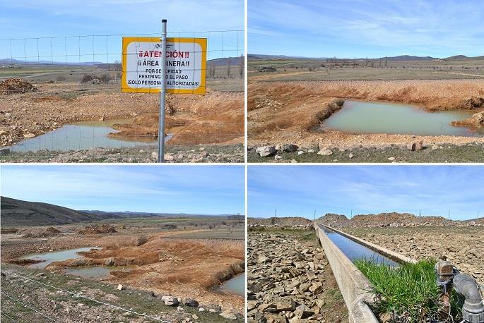 Chunta pide mayor control y garantías a la CHE tras conocerse el inicio de una denuncia contra la mina de Borobia