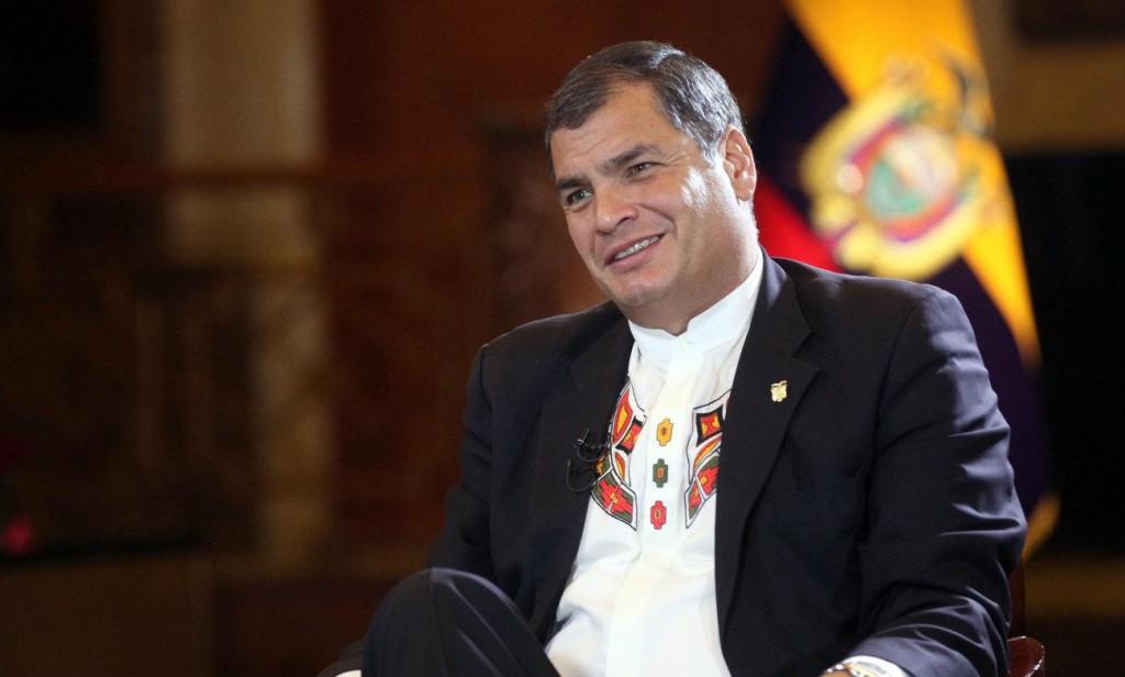 """Rafael Correa: """"sanciones de EEUU reviven épocas de invasiones y dictaduras imperialistas"""""""
