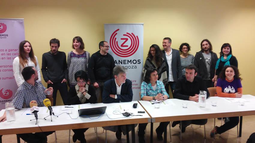 Zaragoza en Común celebra una jornada de trabajo para conocer las instituciones desde dentro