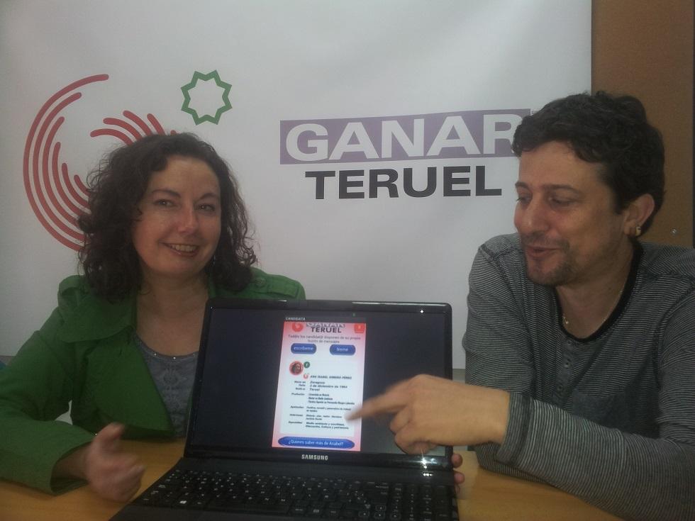 """Ganar Teruel presenta una APP para """"interactuar con la ciudadanía"""""""