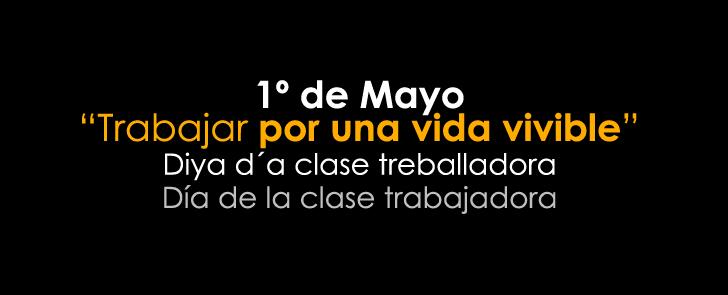 Aragón se moviliza en el Día de la clase trabajadora