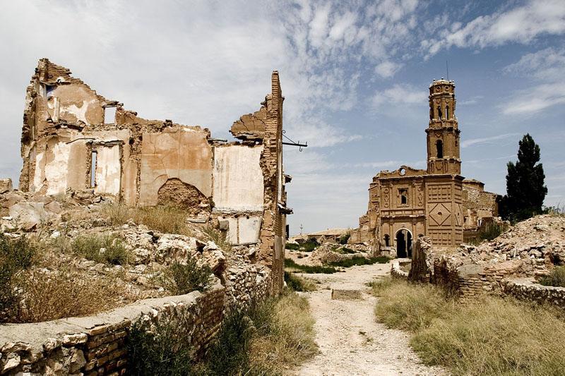Apudepa alerta sobre el riesgo de desaparición del pueblo viejo de Belchite