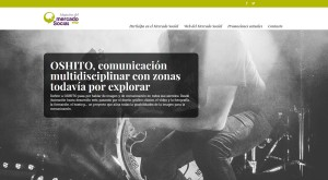 Imagen de la web del nuevo magazine de Mercado Social Aragón.