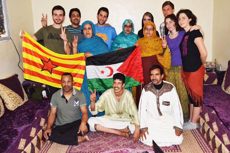 Brigada Aragón-Sahara: «Un grito desde el Sáhara»