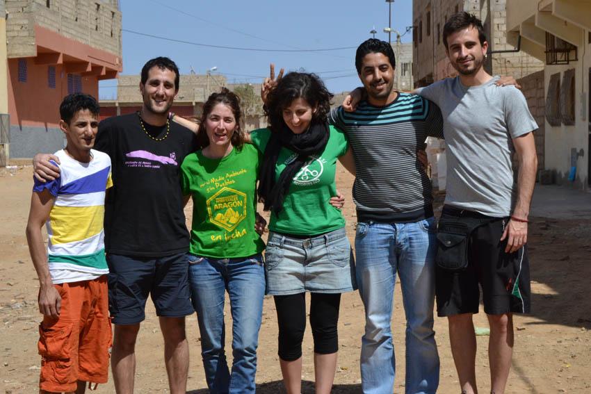 """Brigada Aragón-Sahara: """"Una parte de nosotras se queda en el Sahara"""""""