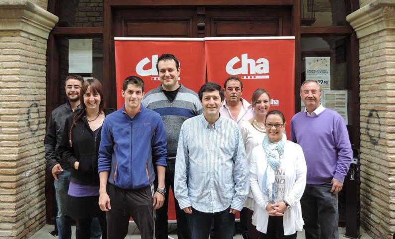 """CHA se presenta en Almudébar como """"alternativa desde la izquierda, con experiencia e ilusión"""""""