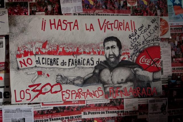 """Presentación del libro """"Somos Coca Cola en Lucha"""" en La Pantera Rossa"""