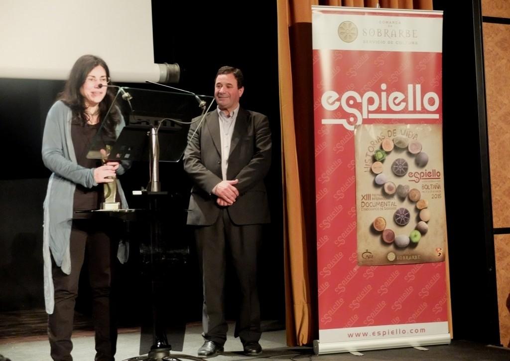 """La producción estadounidense """"It's better to jump"""" se alza con el Premio Espiello al mejor documental"""