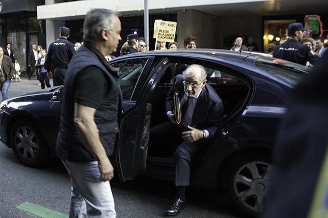 Rebajan la fianza a Rato y la cúpula de Bankia de 800 a 34 millones de euros