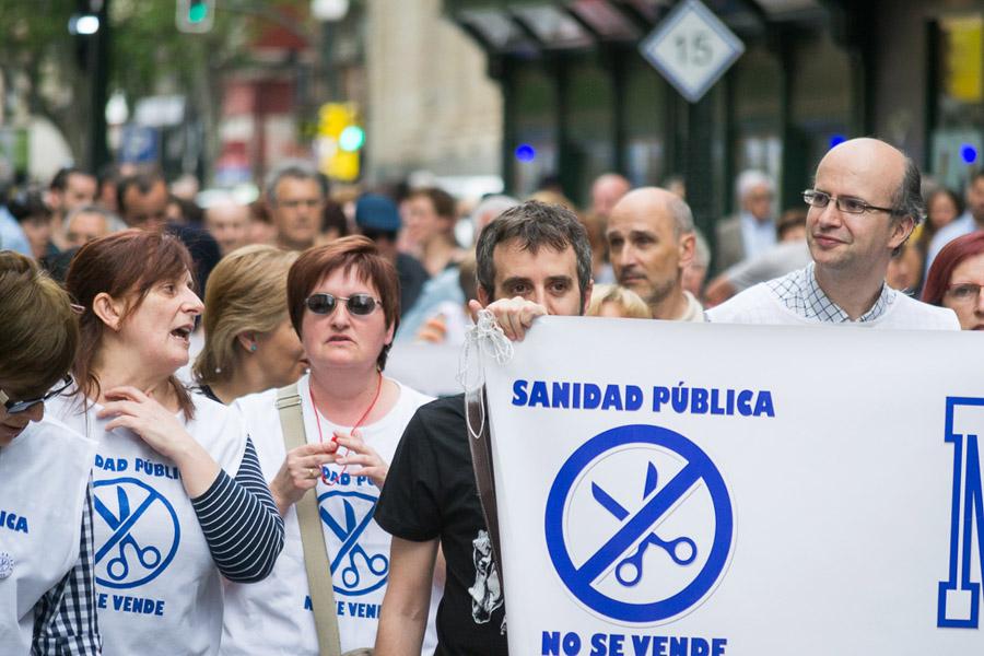 Colectivos defensores de la Sanidad Pública comienzan una campaña contra las listas de espera