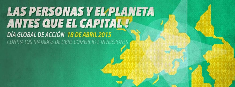 Día de Acción Global contra los tratados de libre comercio e inversiones