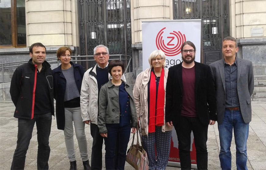 La Junta Electoral tumba las alegaciones del PSOE contra Zaragoza en Común