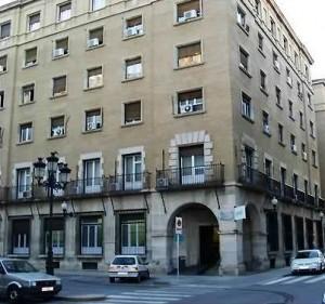 Centro de Salud Santo Grial en Uesca. Foto: DGA