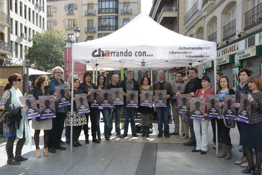 CHA inicia la campaña 'sin maltratadores no hay maltrato'
