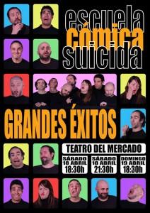 La obra se representa en el Teatro del Mercado en tres funciones.