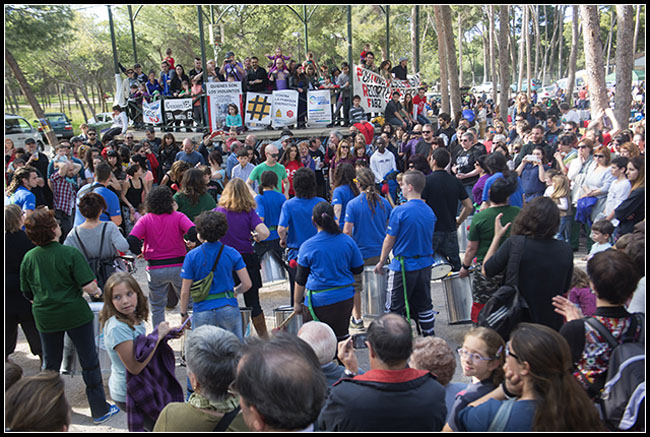 La República Independiente de Torrero acoge un año más la Fiesta del Sol y de la Luna