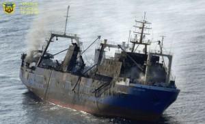 El buque ruso Oleg Naydenov a 15 millas de la costa de Gran Canaria