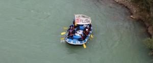 Descenso del Galligo realizado este viernes. Foto: Coordinadora Biscarrués
