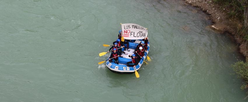 Decenas de personas piden el replanteamiento del futuro hidrológico de la Galliguera