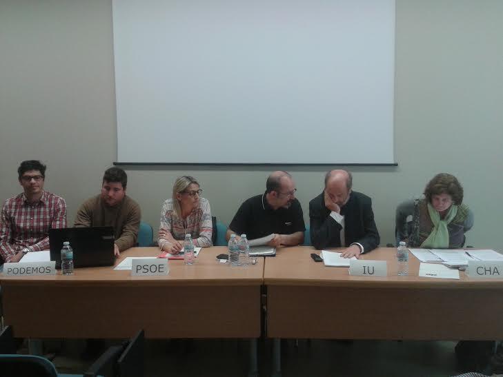 Compromiso político y social con la Plataforma por unos Comedores Escolares Públicos y de Calidad