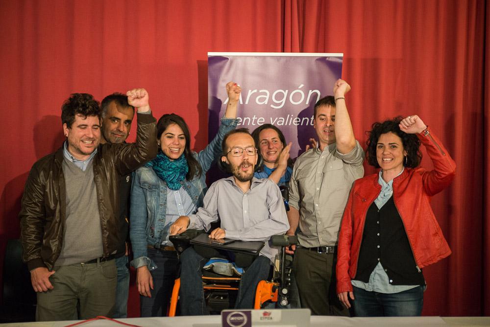El PSOE ocupará la presidencia de las Cortes de Aragón y Podemos la vicepresidencia