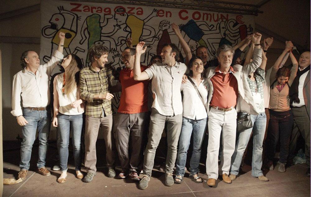 Zaragoza en Común dialogará con todas las fuerzas, excepto el PP