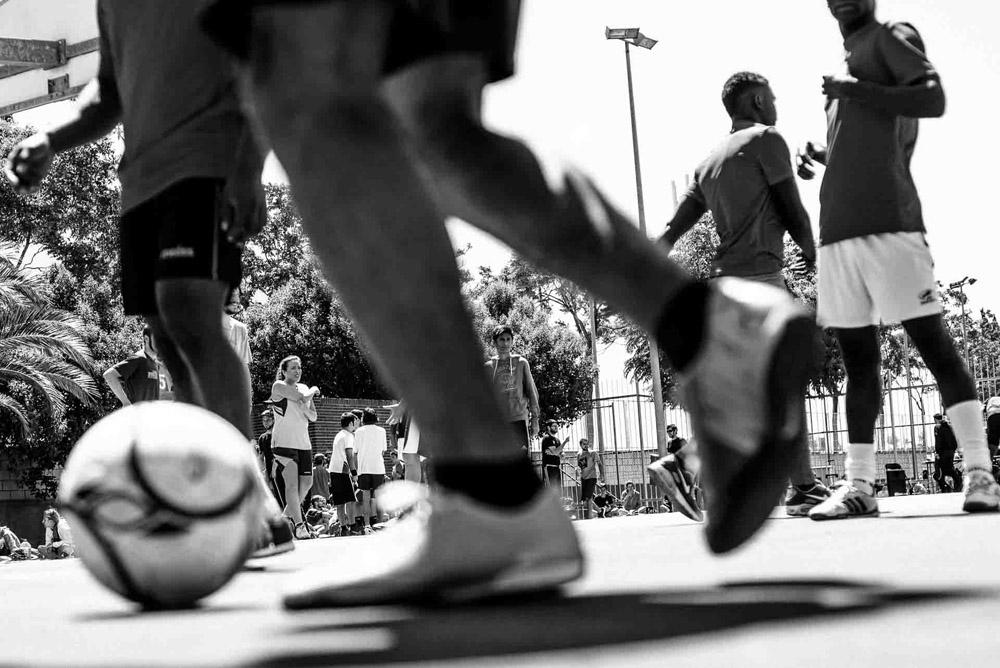 La solidaridad y la deportividad vencen por goleada en el séptimo Mundialito Anti-Racista de Zaragoza