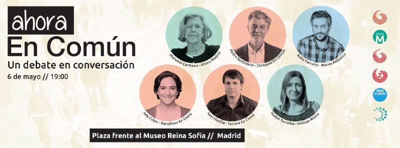 """Pedro Santisteve participa en Madrid en el acto """"Ahora en Común"""""""