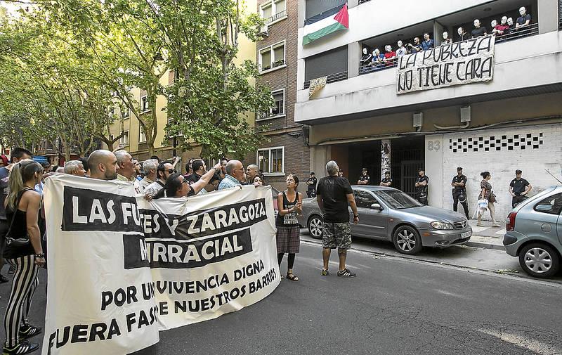Piden tres años de cárcel para otro antifascista por los altercados tras el concierto nazi del Hogar Social