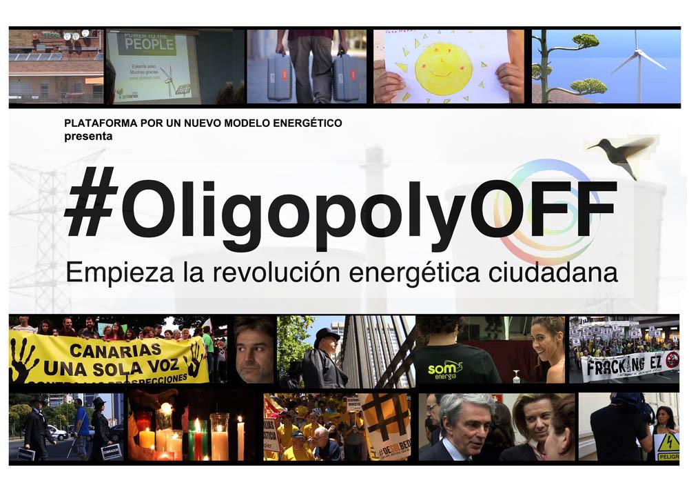 #OligopolyOFF: Empieza la revolución energética ciudadana