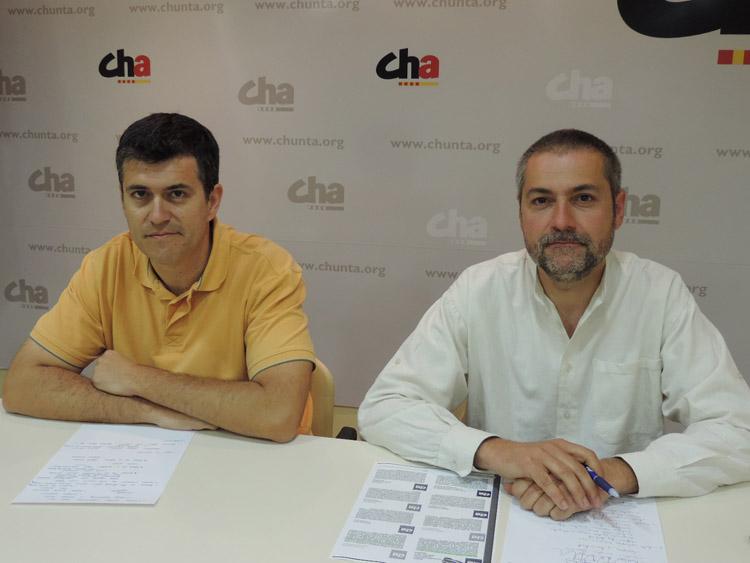 CHA presenta su programa electoral '#SomosAragón'