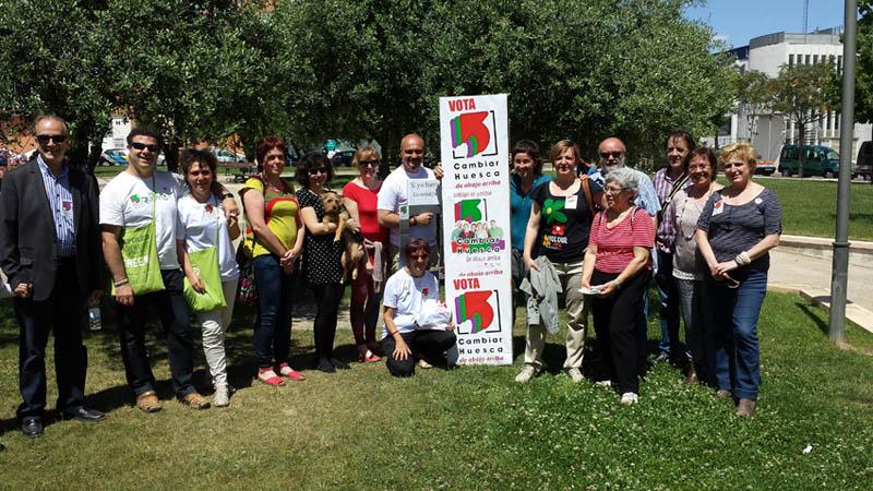 Cambiar Huesca contra la precariedad laboral y por la remunicipalización de los servicios públicos