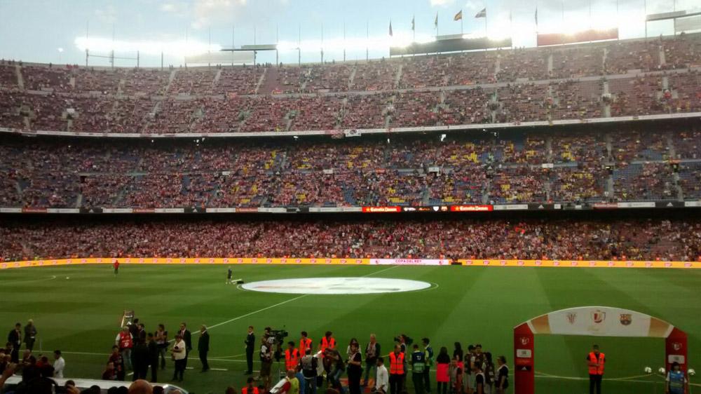 Monumental pitada contra el himno español en la final de Copa en el Camp Nou