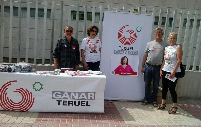 Ganar Teruel rinde cuentas con la ciudadanía