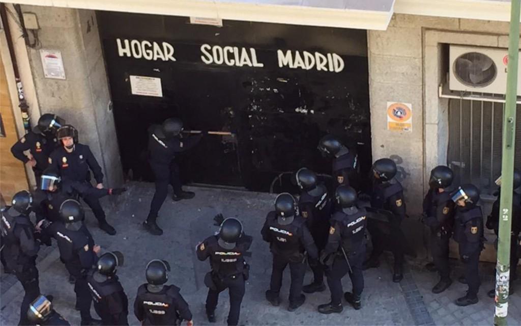 Afectados de Forum-Afinsa critican la ocupación neonazi en Madrid
