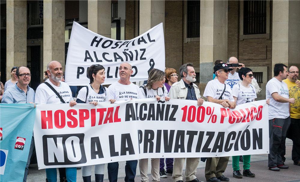 La primera piedra del Hospital de Alcanyiz