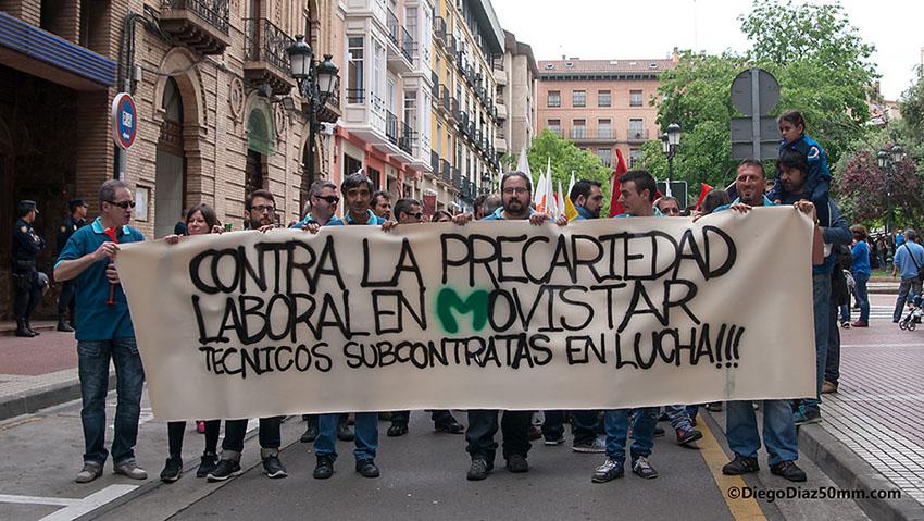 Huelga de 24 horas en las subcontratas de Movistar de Atención al Cliente 1004