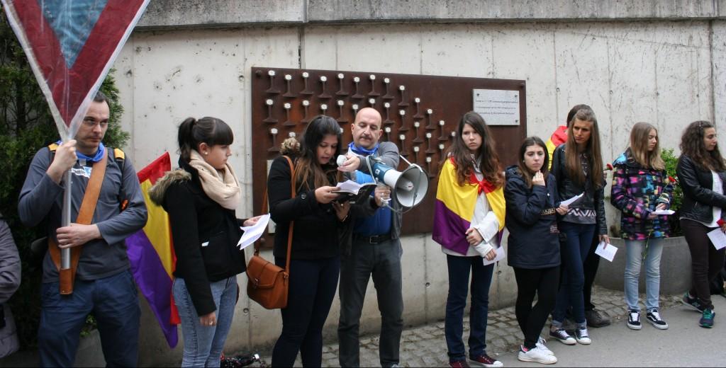 Estudiantes aragoneses visitan Mauthausen