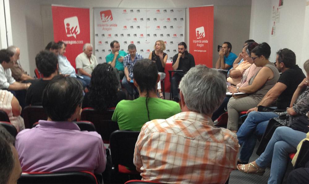 """Luquin: """"Las políticas de Rudi han vapuleado a la clase trabajadora"""""""