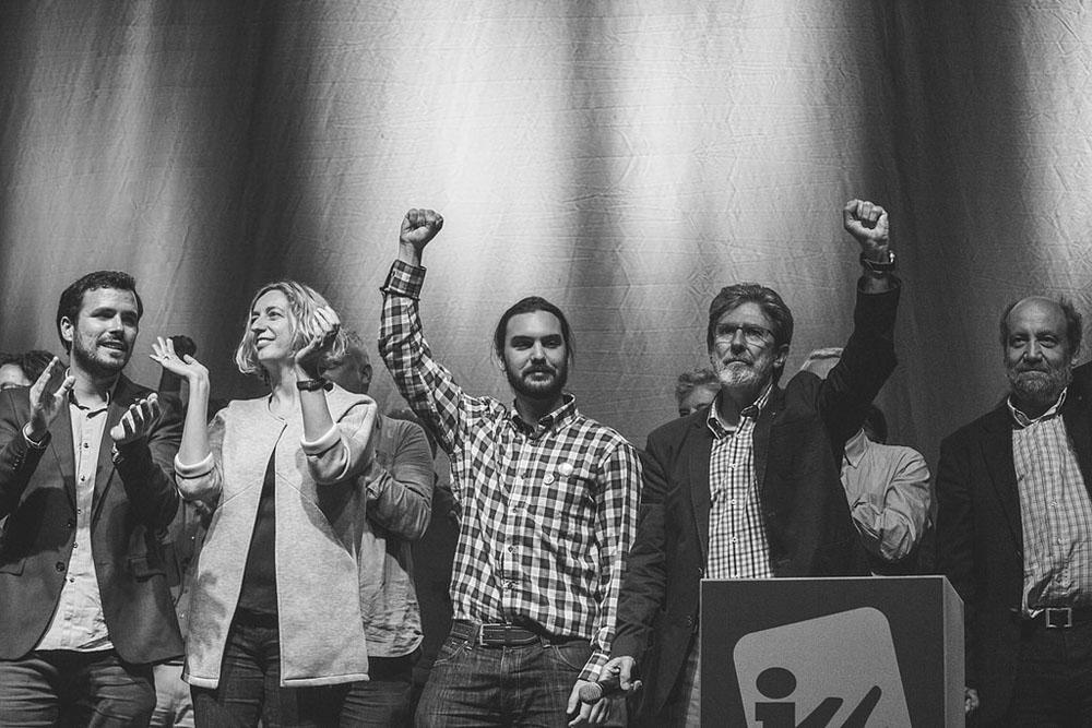 Alberto Garzón: «el bipartidismo está tocado, pero no hundido»