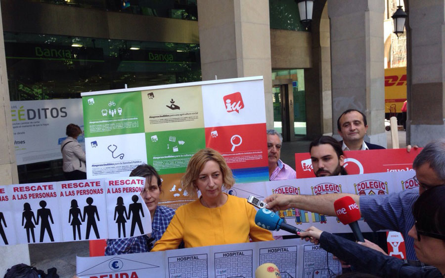 IU exige una Auditoría Ciudadana de la Deuda de Aragón